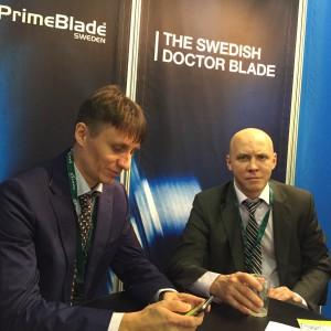 PrimeBlade at Labelexpo Europe 2015