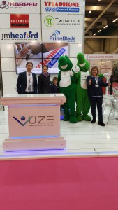 UZE Eurasia Packaging fair Printpack 2015 Team