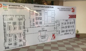 3P Pakistan 2016 Exhibition Floor Plan