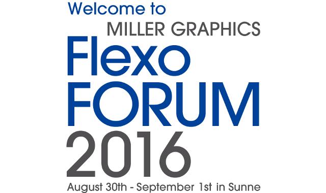 Miller Graphics Flexo Forum 2016 Logo