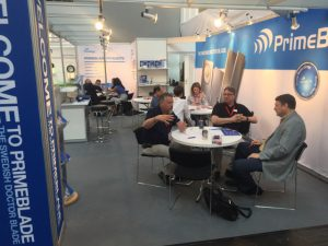 PrimeBlade booth at Drupa 2016-2