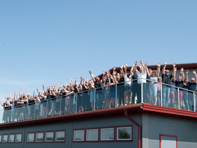 PrimeBlade 10 year anniversary roof