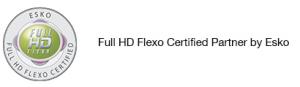 Full HD Flexo Certified Partner by Esko