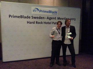 PrimeBlade Sales Achievment Award 2012/2013
