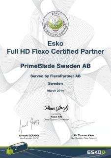 Full-HD Flexo Certified Partner
