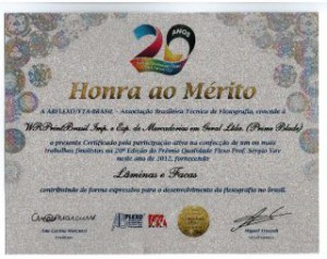FTA Brasil Honor Diploma
