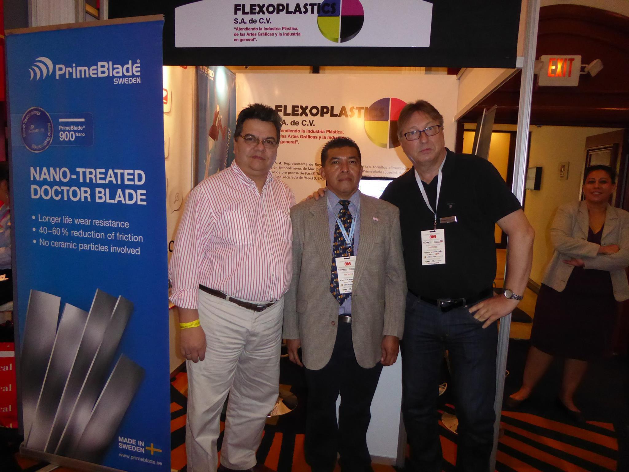 Flexo Centroamèrica 2015 Booth