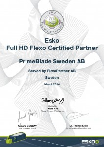 Esko Full HD-Flexo Certified Partner