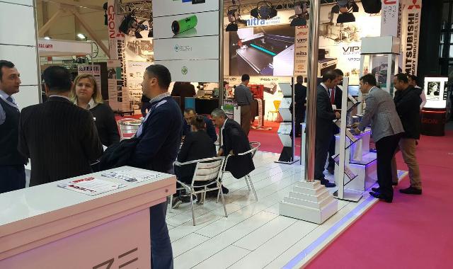 UZE Eurasia Packaging fair Printpack 2015 Booth 2