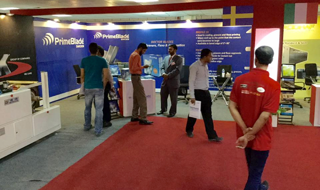 PrimeBlade Booth at 3P Pakistan 2016 Exhibition