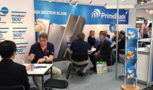 PrimeBlade booth at Drupa 2016