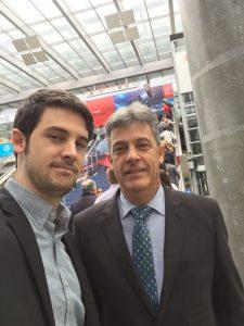 Juan Echeandia and Ander Echeandia at Colorflex C.A.