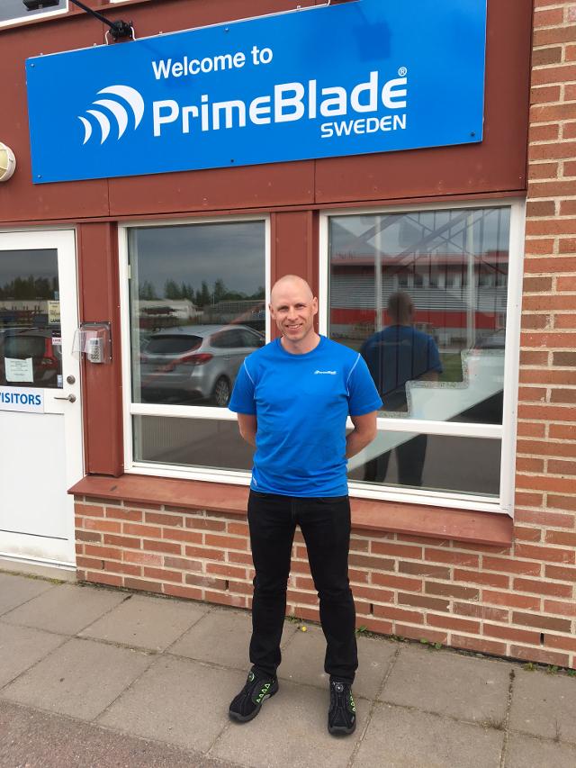 Jon Werme, Production Manager, PrimeBlade Sweden AB