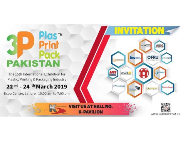 3P Plas Print Pack Pakistan 2019