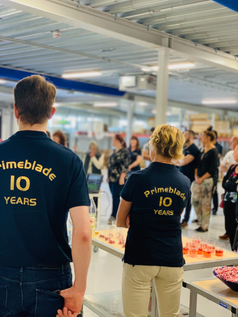 PrimeBlade10 year anniversary inside